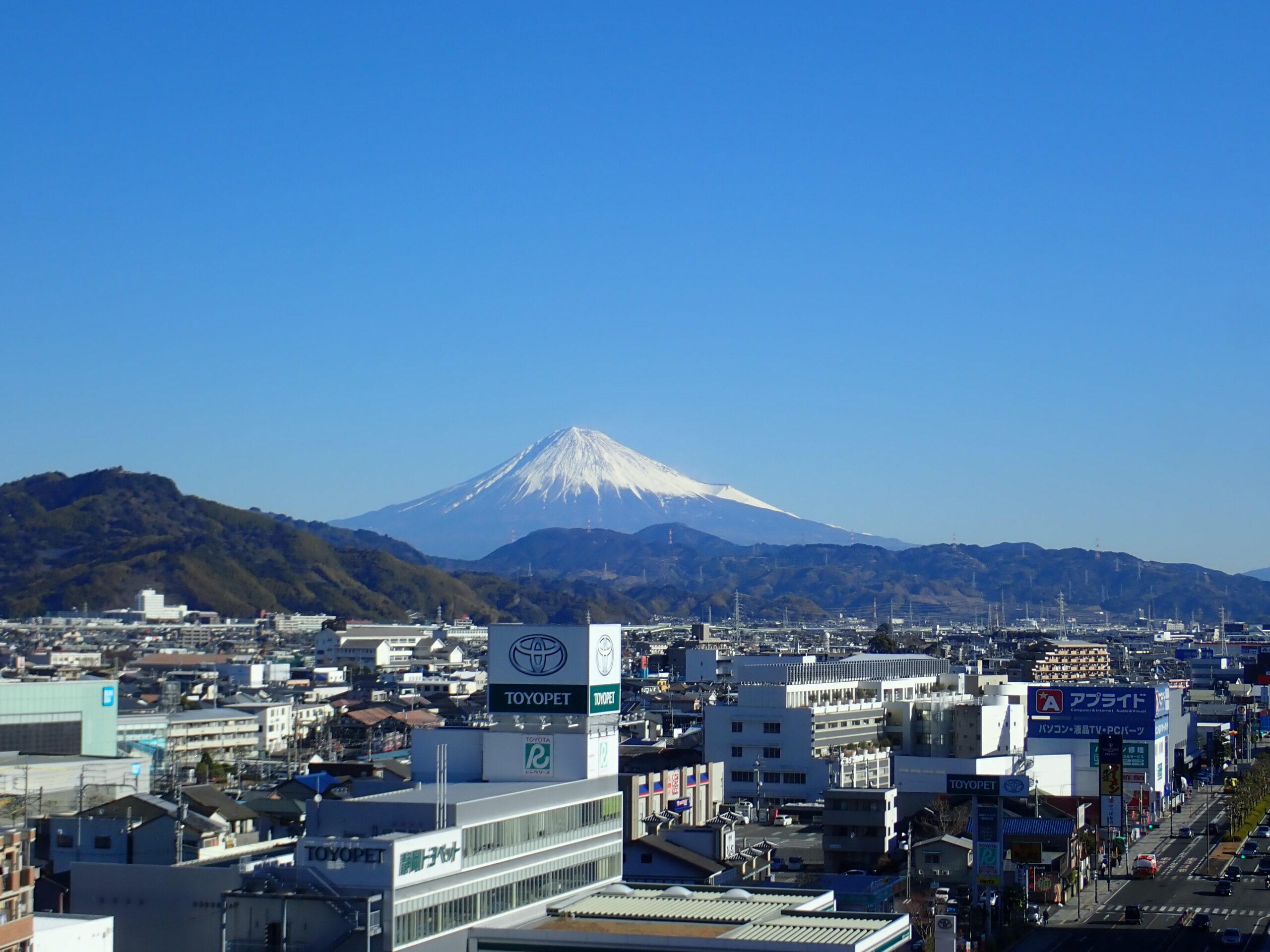 東静岡からの富士山