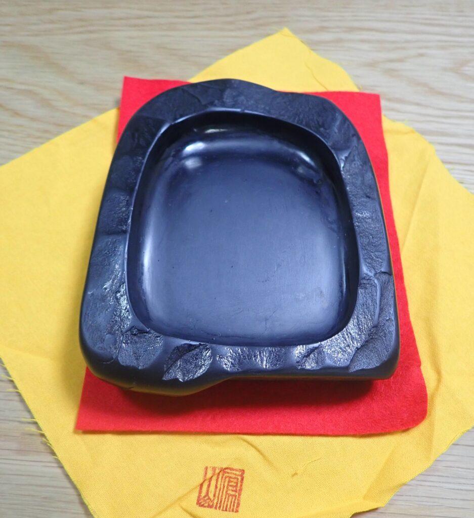 鳳鳴石の鳳来寺硯